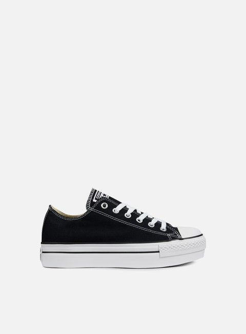 sneakers converse wmns all star platform ox canvas black