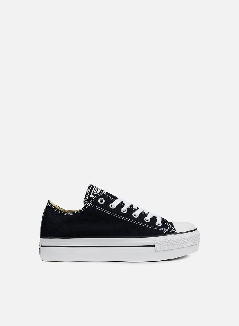 Converse - WMNS All Star Platform Ox Canvas, Black