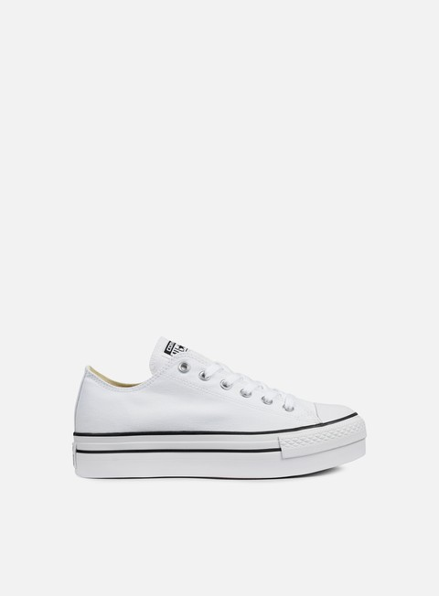 sneakers converse wmns all star platform ox canvas white