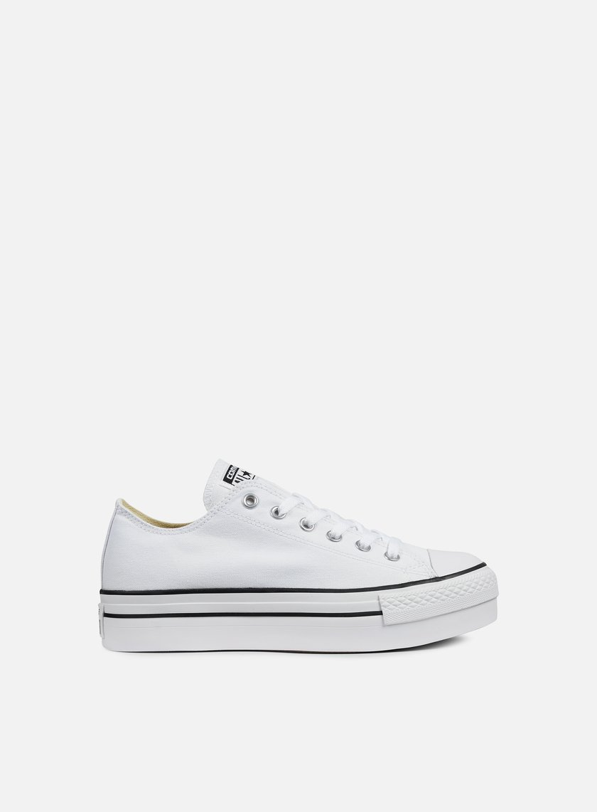 Converse - WMNS All Star Platform Ox Canvas, White