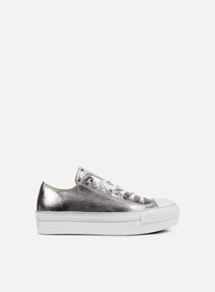 Converse - WMNS All Star Platform Ox, Gunmetal/White/Mouse 1