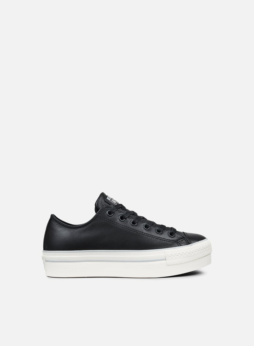 CONVERSE WMNS All Star Platform Ox Leather € 65 Low Sneakers ... 62d850c5a