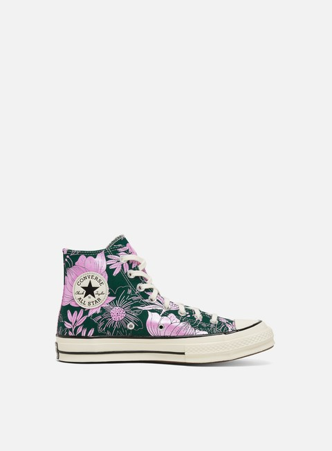 Sneakers Alte Converse WMNS Chuck 70 Flowers Hi