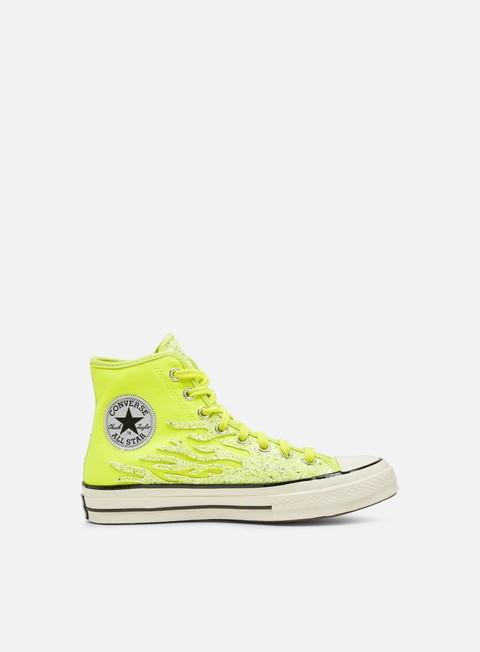 High Sneakers Converse WMNS Chuck 70 Glitter Shine Hi