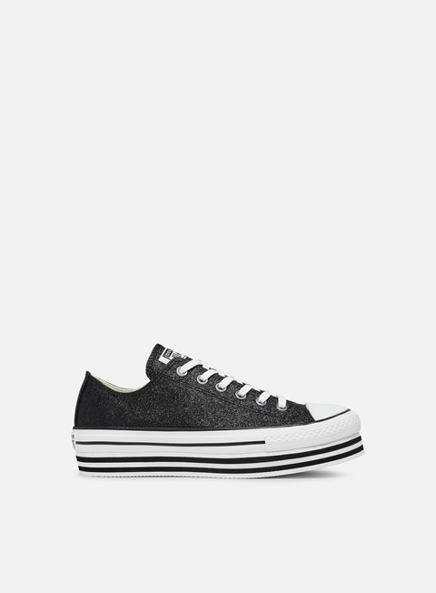 WMNS Chuck Taylor All Star Shiny Metal Lift Low