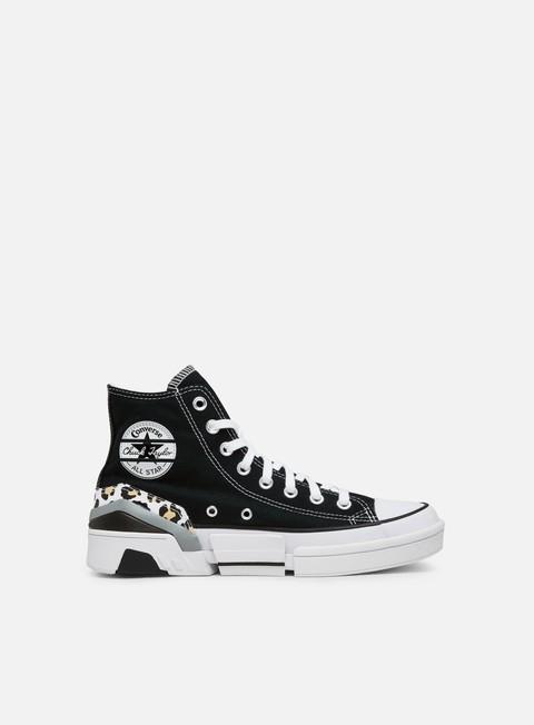 Outlet e Saldi Sneakers Alte Converse WMNS CPX70 Logo Play Hi