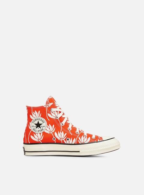 High Sneakers Converse WMNS Floral Print Chuck 70 Hi