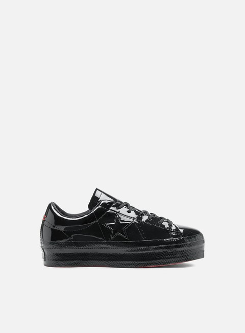 Sale Outlet Low Sneakers Converse WMNS One Star Platform Ox Leather