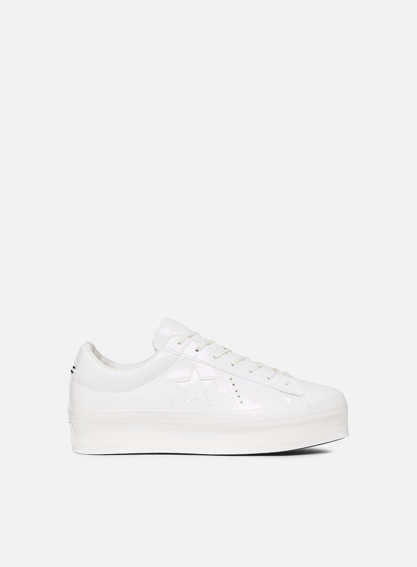 e80e48ec3a99 CONVERSE WMNS One Star Platform Ox Leather € 55 Low Sneakers ...