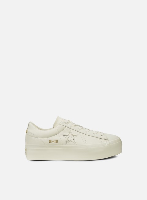 Converse WMNS One Star Platform Ox Premium Leather