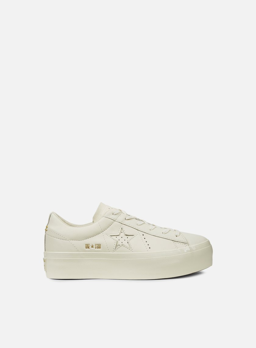 52be4f97f8230e CONVERSE WMNS One Star Platform Ox Premium Leather € 55 Low Sneakers ...