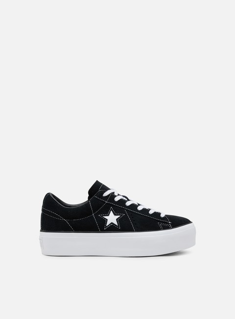 Outlet e Saldi Sneakers Basse Converse WMNS One Star Platform Suede Low