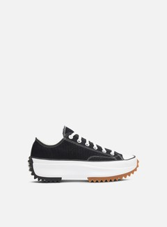 Converse - WMNS Run Star Hike Low, Black/White/Gum