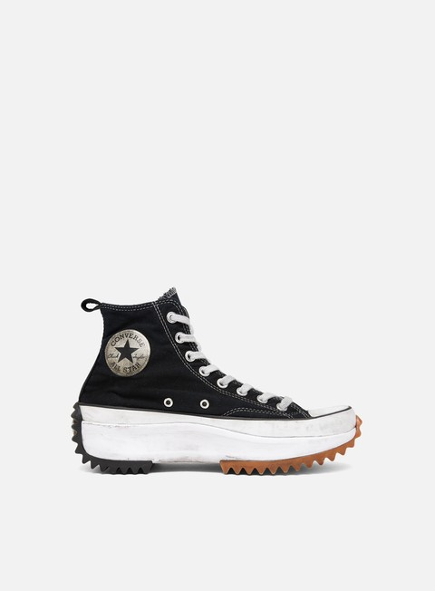 Sneakers Alte Converse WMNS Run Star Hike Smoked Canvas Hi