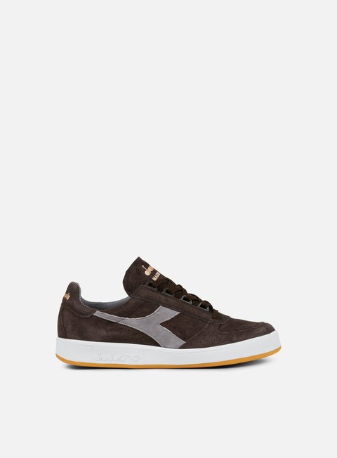 sneakers diadora b elite italia suede brown after dark