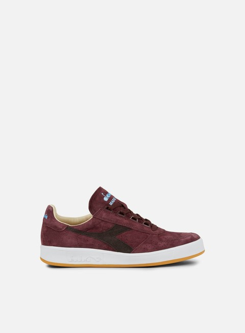sneakers diadora b elite italia suede decadent chocolate