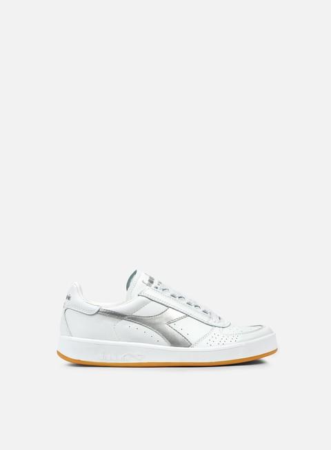 sneakers diadora b elite italia white silver