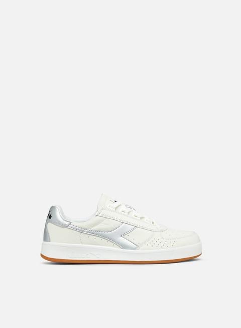 sneakers diadora b elite l white silver