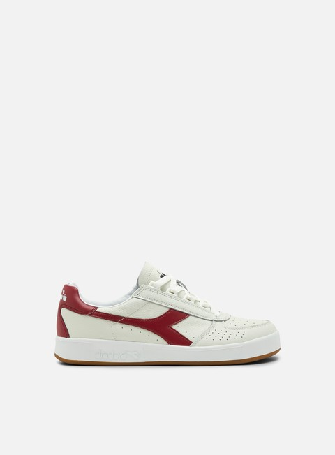 sneakers diadora b elite l white tibetan red