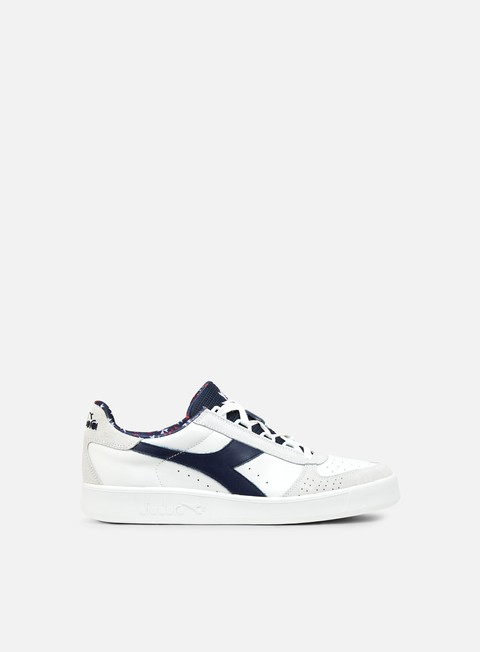 sneakers diadora b elite made in italy white classic navy