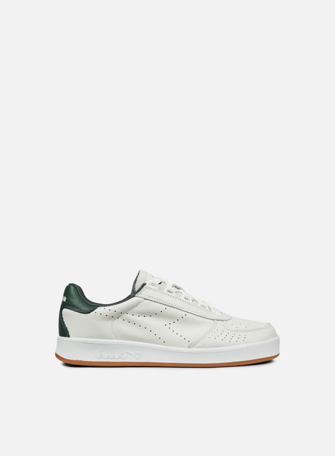 sneakers diadora b elite premium l white jungle green