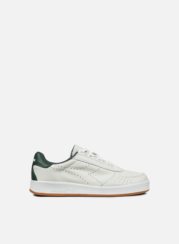 Diadora - B. Elite Premium L, White/Jungle Green
