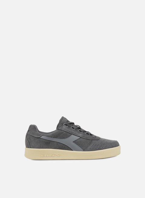 sneakers diadora b elite suede steel grey