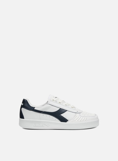 sneakers diadora b elite white blue denim