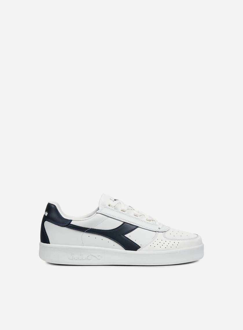 Diadora - B. Elite, White/Blue Denim