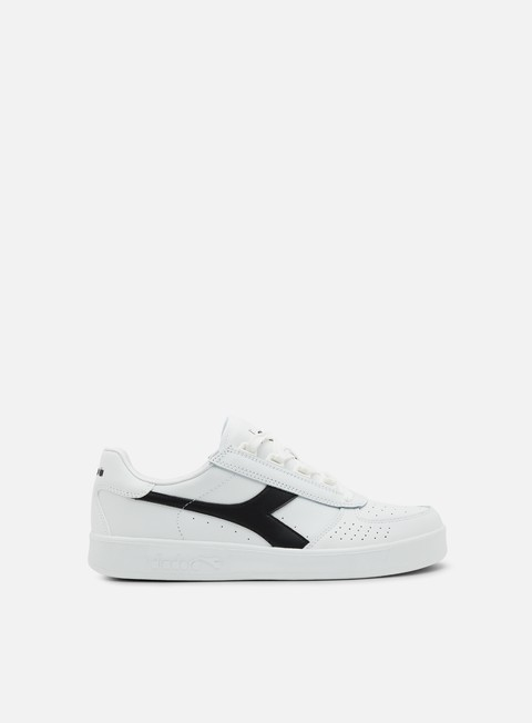 sneakers diadora b elite white white black