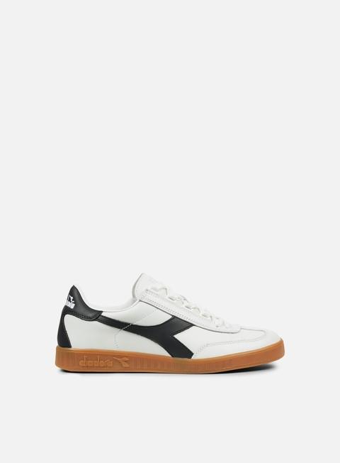 Sneakers Basse Diadora B. Original Premium. White/Majolica Blue