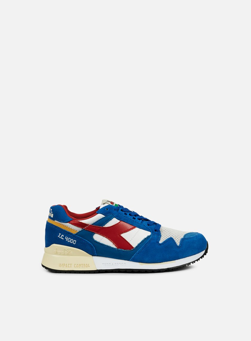 Diadora - IC 4000 Premium, Nautical Blue/Pompeian Red