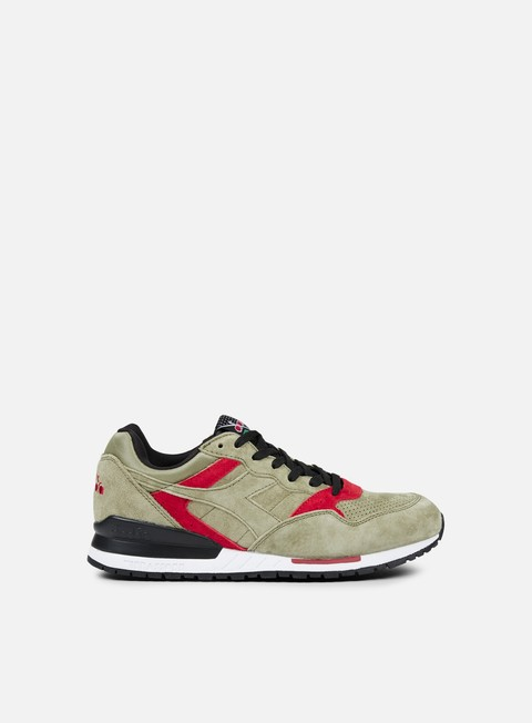 sneakers diadora intrepid premium deep lichen green black garnet
