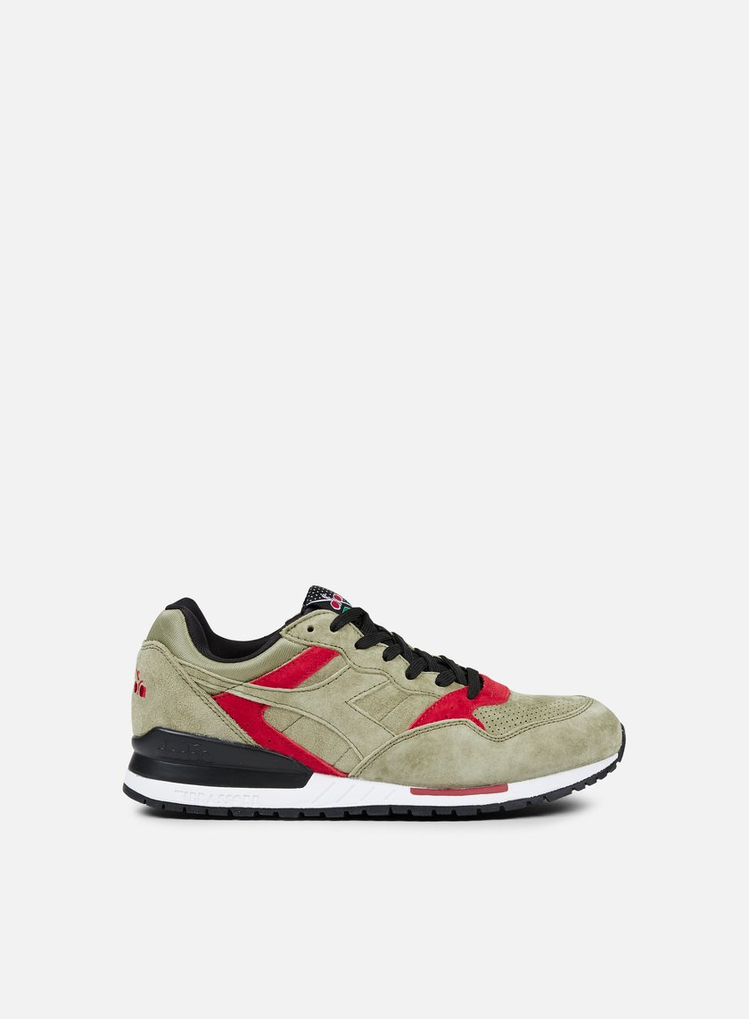 Diadora - Intrepid Premium, Deep Lichen Green/Black/Garnet