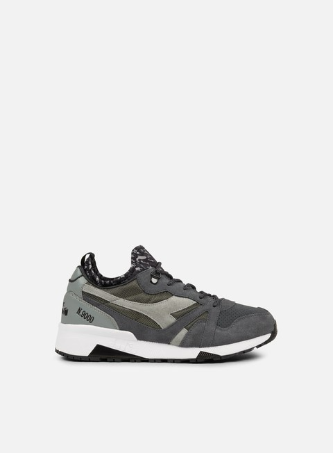 sneakers diadora n9000 camo socks pewter