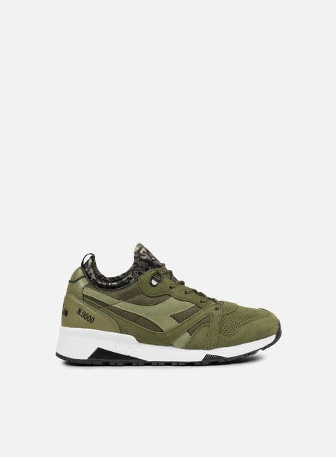 sneakers diadora n9000 camo socks stone grey