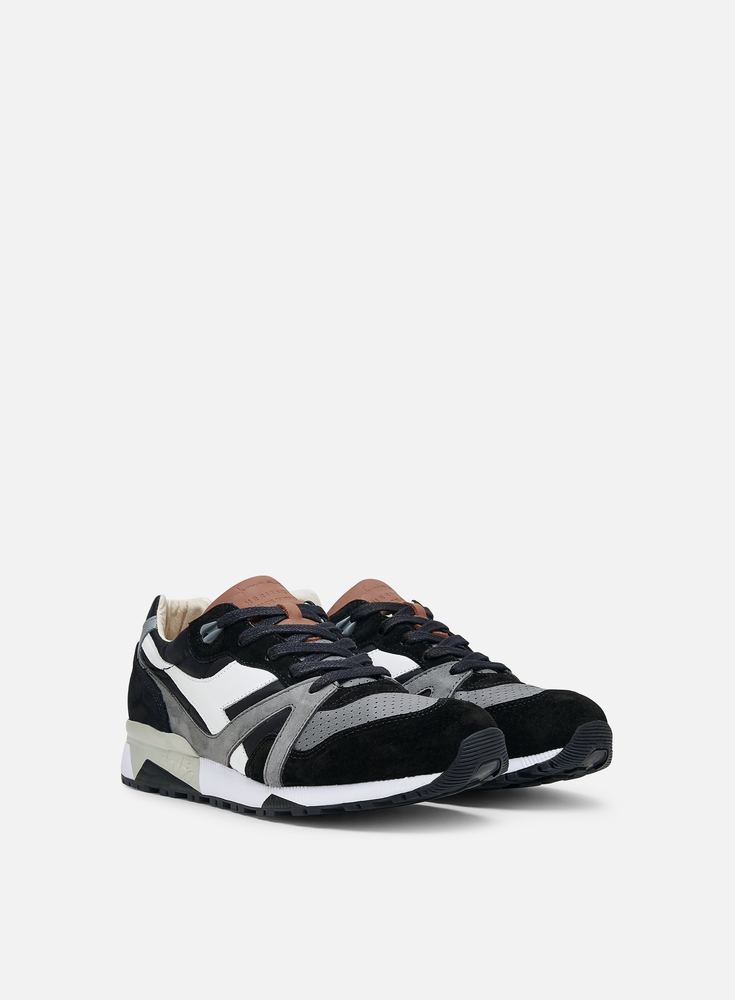 Diadora N9000 H Ita Mens  Sneakers Shoes Casual Black