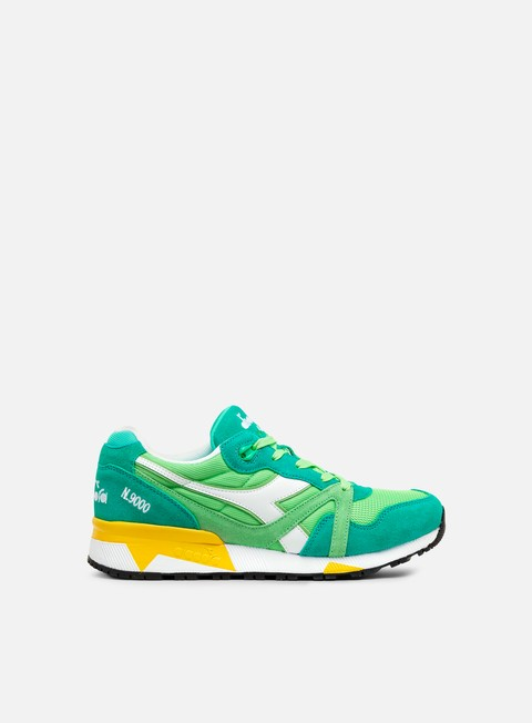 sneakers diadora n9000 iii pool green spring bouquet