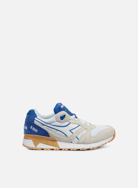 sneakers diadora n9000 iii white princess blue