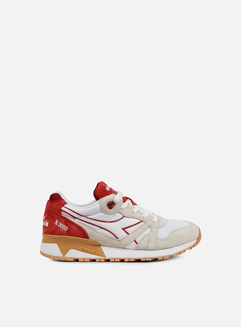 sneakers diadora n9000 iii white red capital