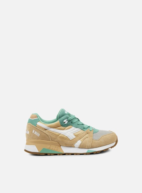 sneakers diadora n9000 nyl golden straw bermuda green