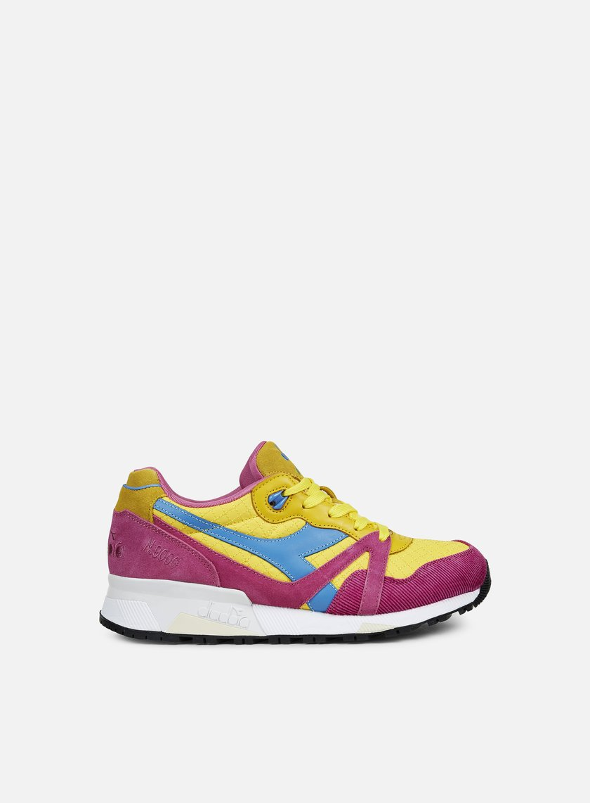 Diadora - N9000 PAN, Yellow Croms/Violet Phlox