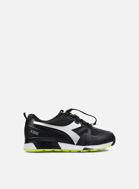 sneakers diadora n9000 wnt bright black silver