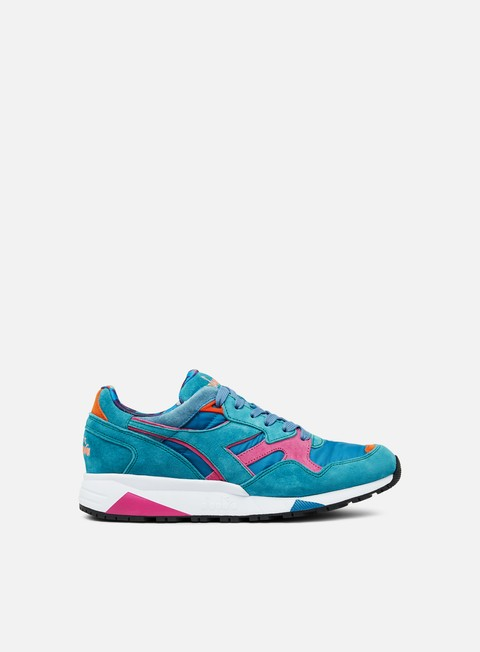Outlet e Saldi Sneakers Basse Diadora N9002 MII Valanga Azzurra