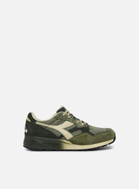 sneakers diadora n902 speckled burnt olive green