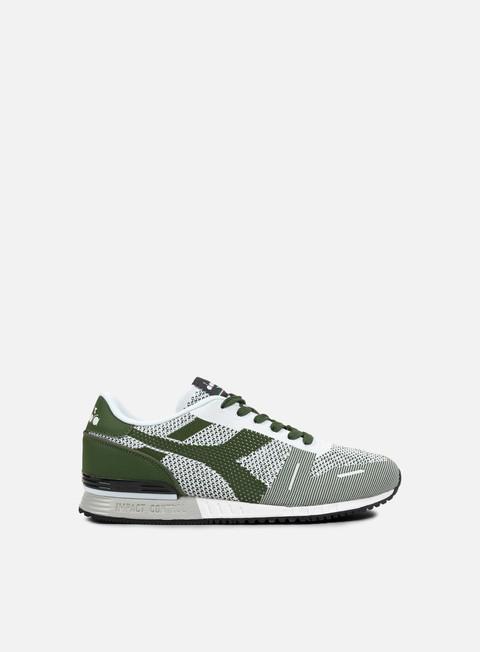 sneakers diadora titan weave green galapagos black