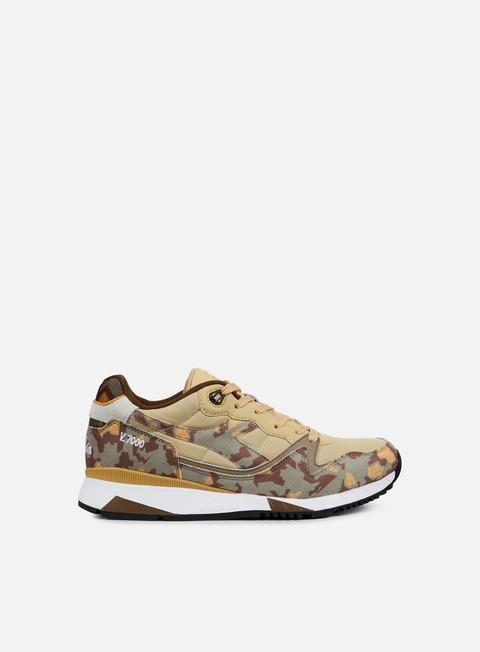 sneakers diadora v7000 camo beige mojave desert