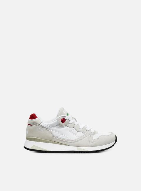 sneakers diadora v7000 nyl ii white ferrari red italy