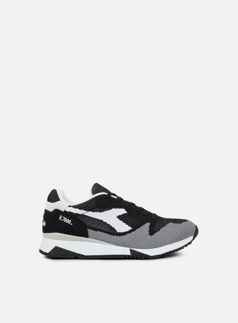 sneakers diadora v7000 weave black white black