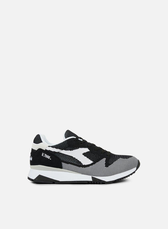 Diadora - V7000 Weave, Black/White/Black